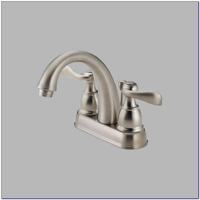 3 Hole Waterfall Bathroom Sink Faucet