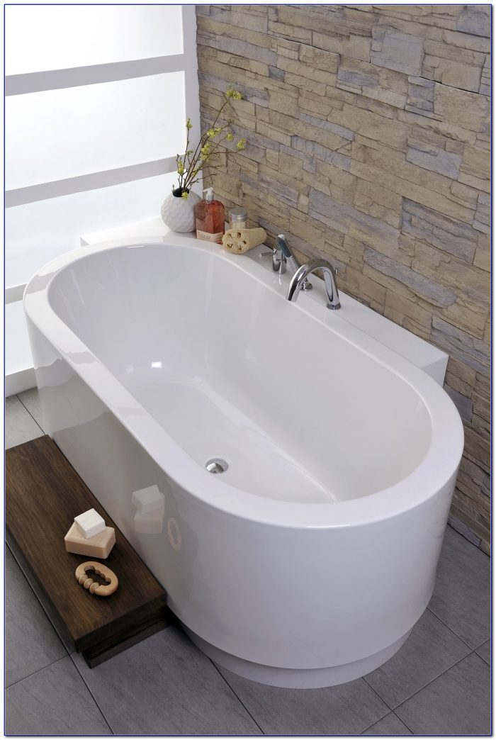 60 Freestanding Tub With Deck Mount Faucet