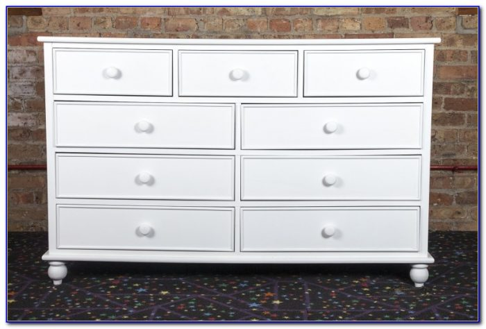 9 Drawer Dresser White