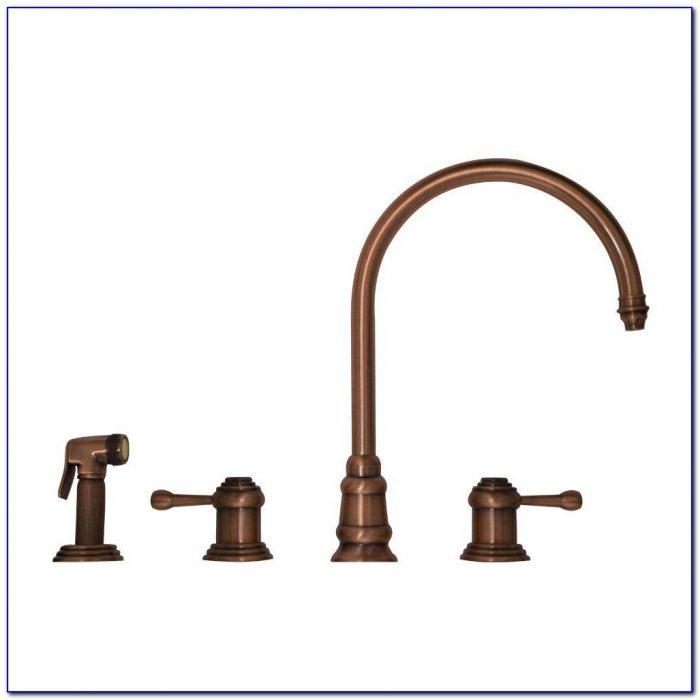 Antique Copper Finish Kitchen Faucet