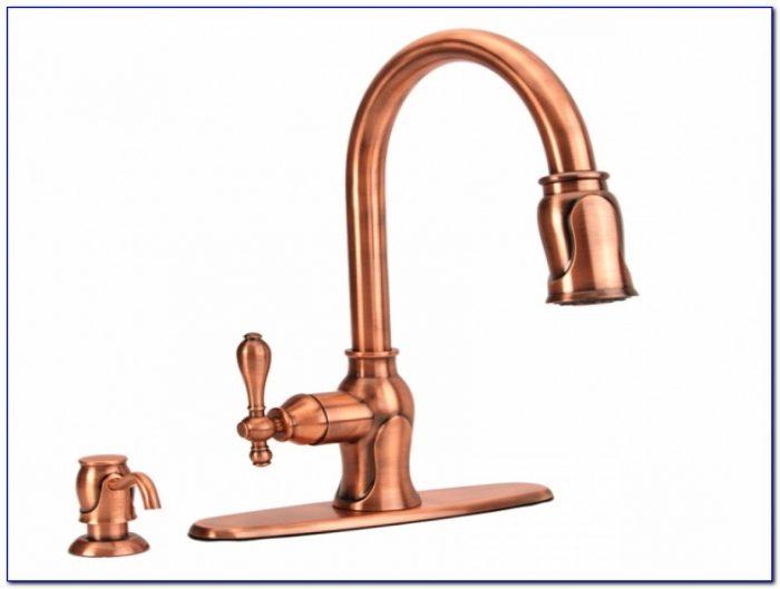 Antique Copper Kitchen Sink Faucet