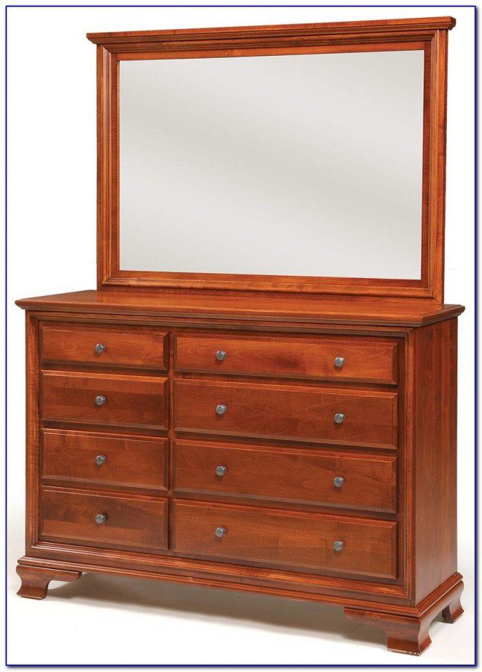 Broyhill Fontana Triple Dresser With Mirror Dresser