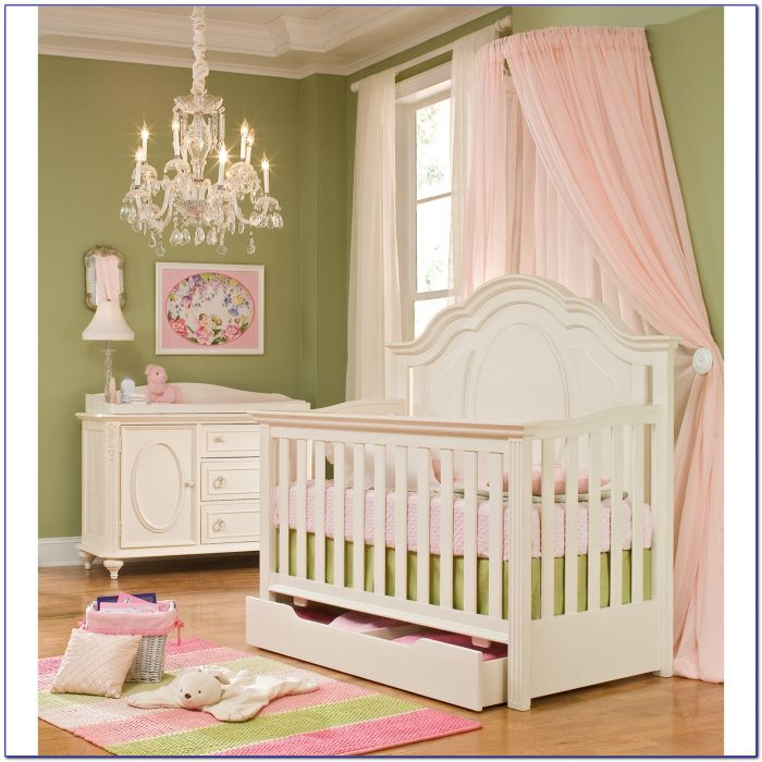 Baby Crib Dresser Changing Table Combo