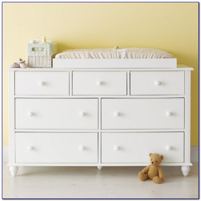 Baby Dresser With Changing Pad