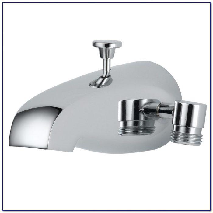 Bathtub Faucet With Diverter
