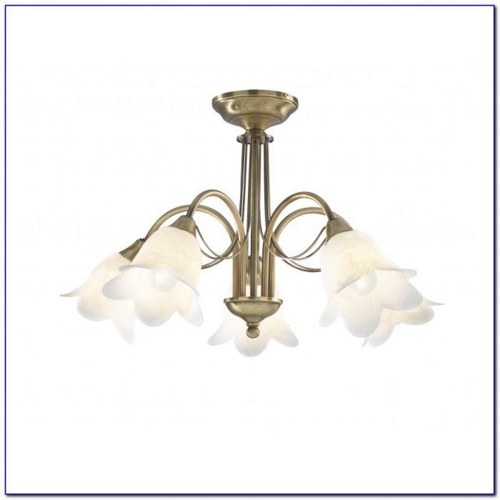 Brass Flush Ceiling Light Fittings