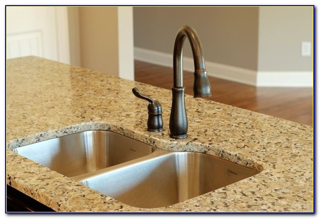 Bronze Faucet With Stainless Steel Sink