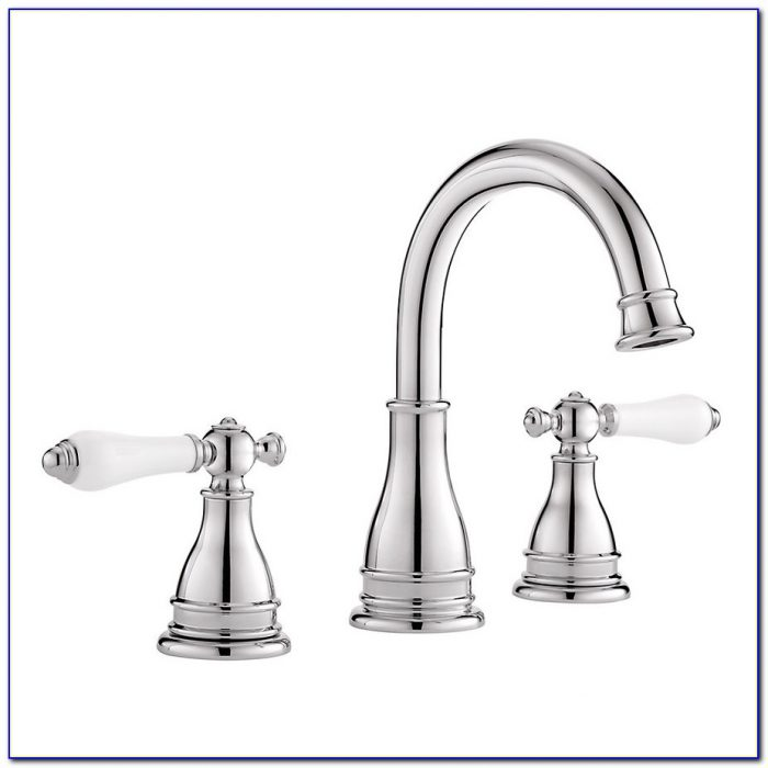 Brushed Nickel And Chrome Bathroom Faucets