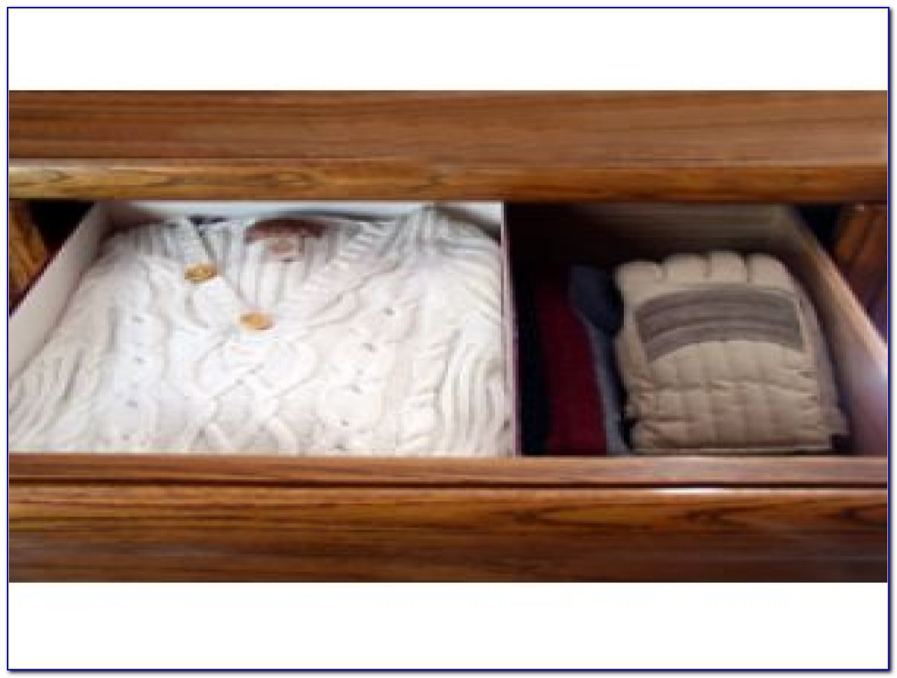 Cedar Dresser Drawer Dividers