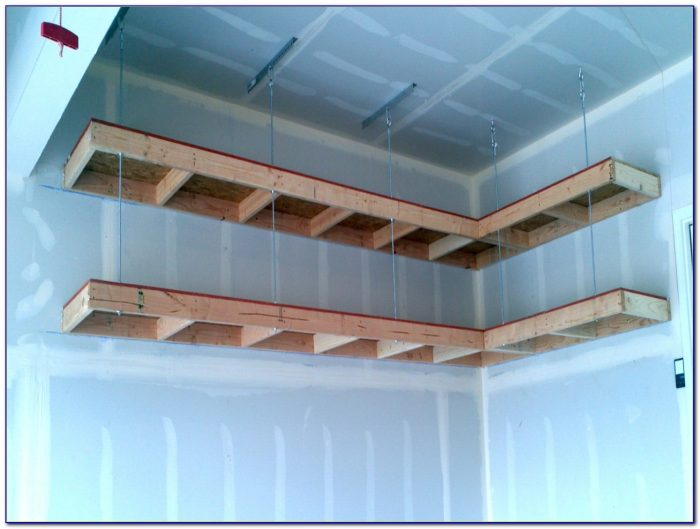 Ceiling Mounted Storage For Garage