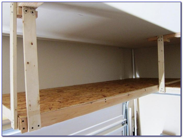 Ceiling Storage Units For Garage