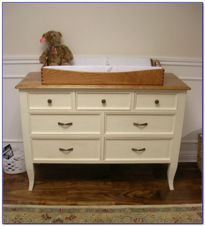 Changing Tray Over Dresser