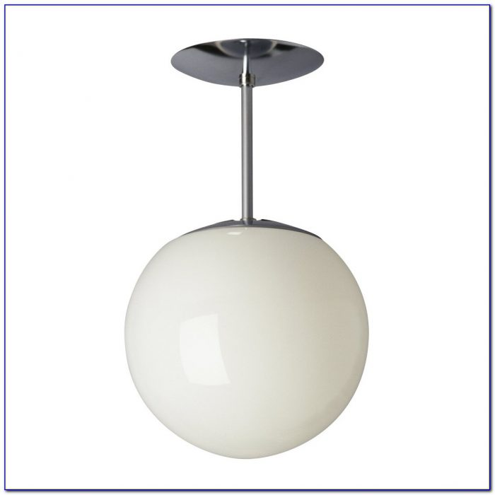 Chrome Semi Flush Ceiling Lights