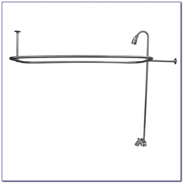 Clawfoot Tub Faucet With Riser Clawfoot Tub Faucet With Riser Pegasus 2 Handle Claw Foot Tub Faucet With Riser 54 In 1000 X 1000