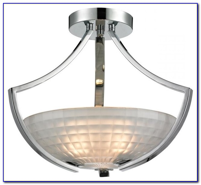 Contemporary Semi Flush Mount Ceiling Light