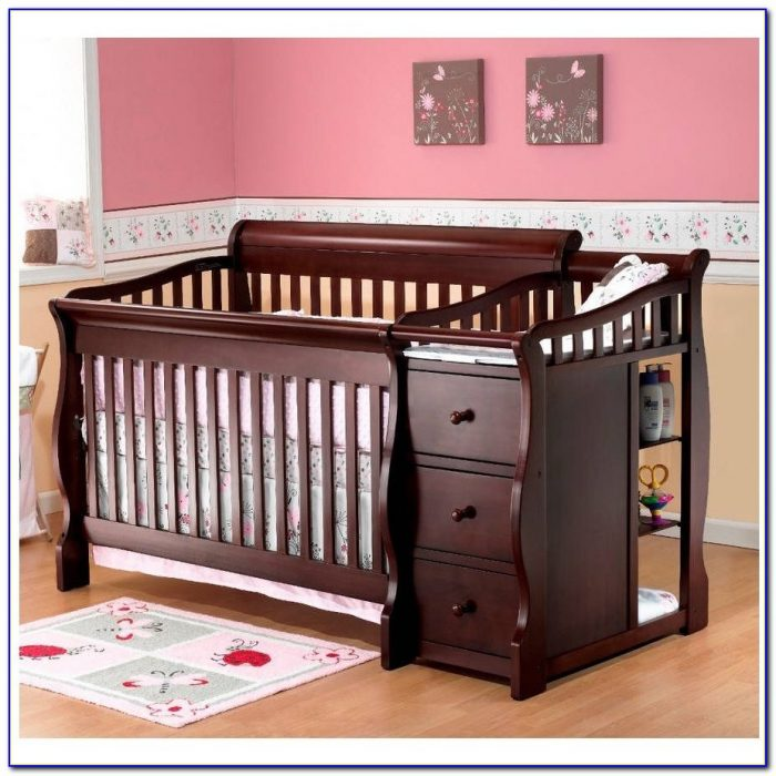 Crib And Dresser Combo Sets