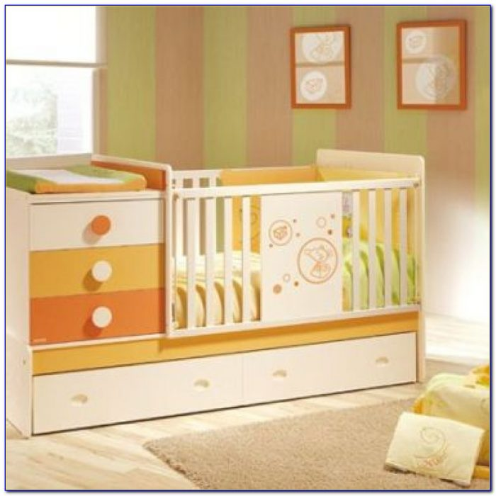 Changing | Drop Camp With Baby Crib With Changing Table And Dresser Attached