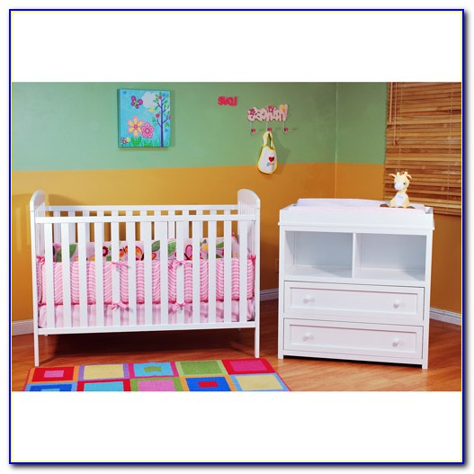 Crib Dresser Changing Table All In One