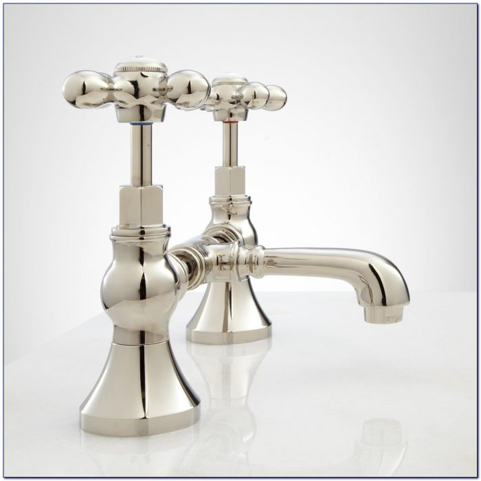 Cross Handle Bathroom Faucets