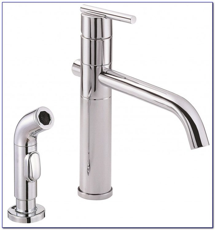 Danze Kitchen Faucets Luxury Danze D Parma Single Handle Kitchen Faucet With Side Spray