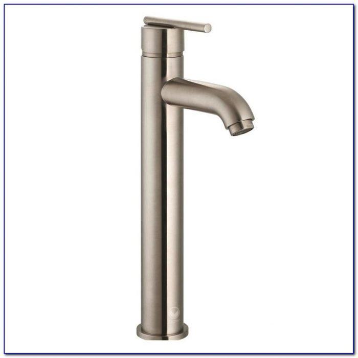 Delta Brushed Nickel Single Handle Bathroom Faucet