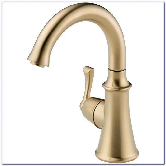 Delta Champagne Bronze Kitchen Faucet