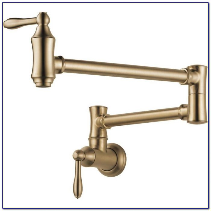 Delta Commercial Wall Mount Kitchen Faucet