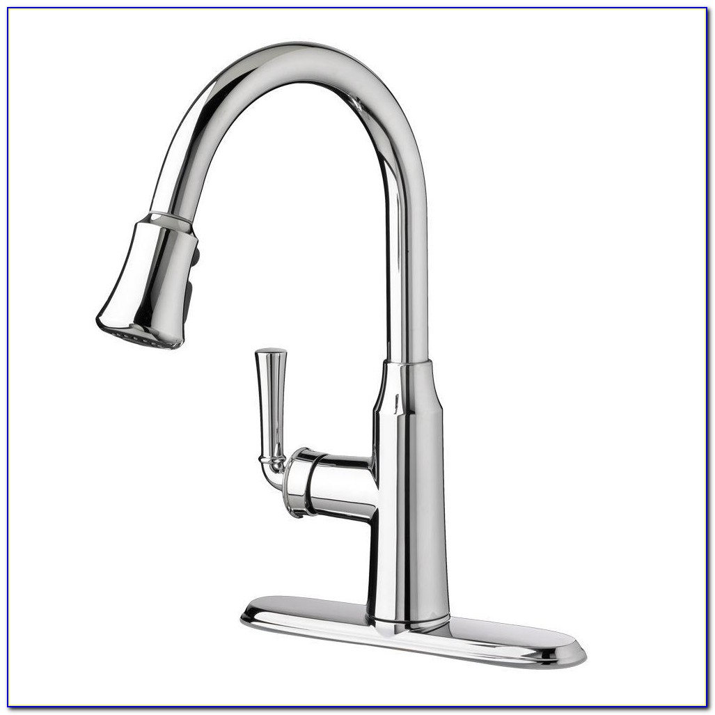 Single Handle Pull Down Kitchen Faucet With Touch2o 174 Technology Faucet Home