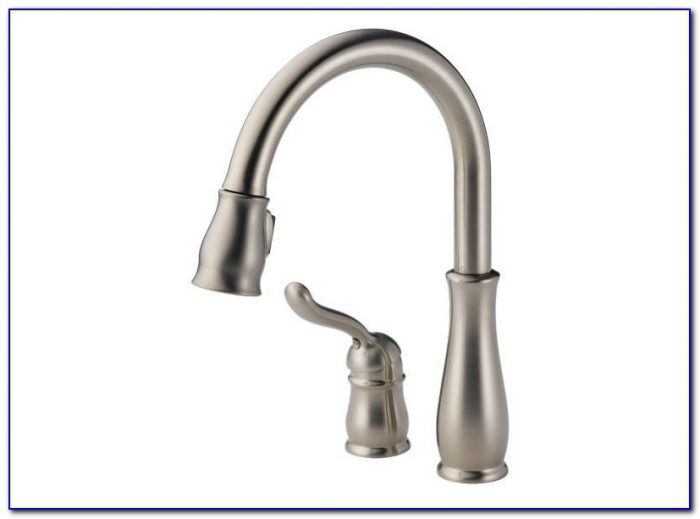 Delta Leland Arctic Stainless Pull Down Kitchen Faucet
