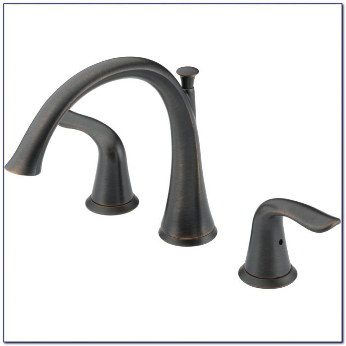 Delta Roman Tub Faucet With Hand Shower