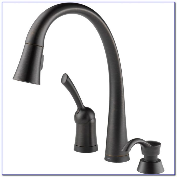 Delta Single Lever Pilar Touch Pull Down Kitchen Faucet