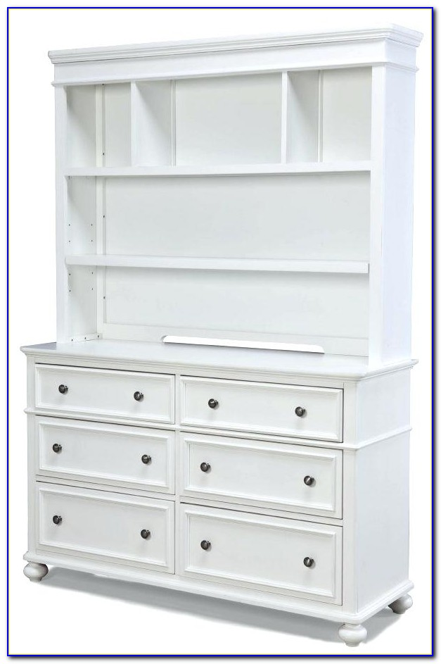 Dresser And Bookshelf Combo