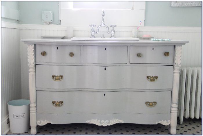 Dresser As Bathroom Vanity
