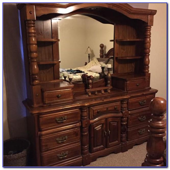 Dresser With Hutch Top Mirror