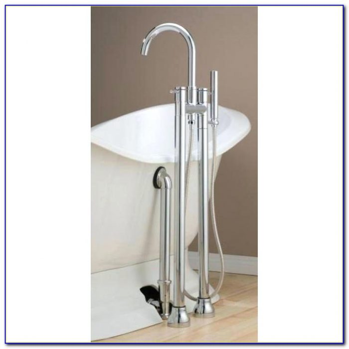 Faucet Set For Clawfoot Tub