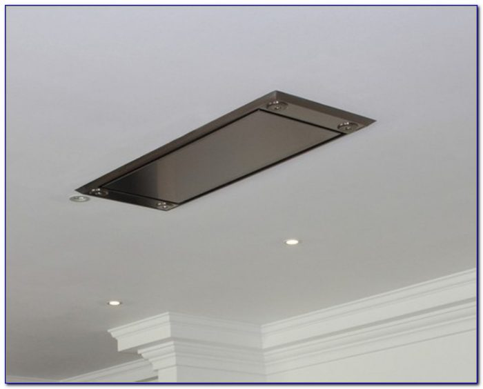 Flush Ceiling Mounted Kitchen Extractor Fans