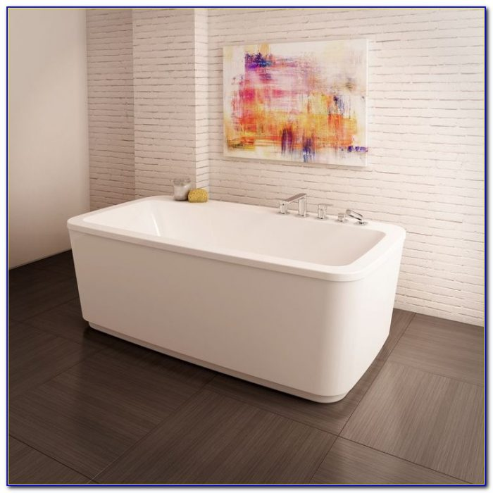 Freestanding Tub With Faucet Holes