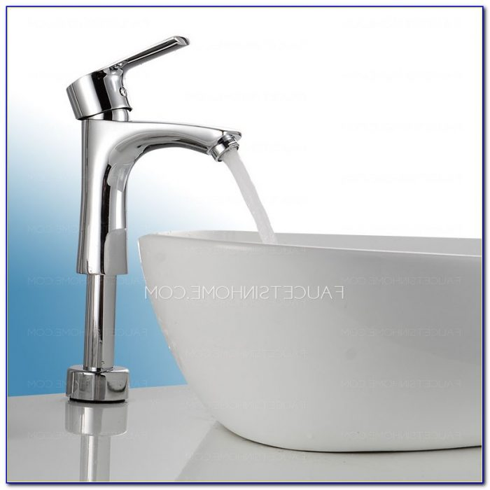 Glass Vessel Sinks With Faucets
