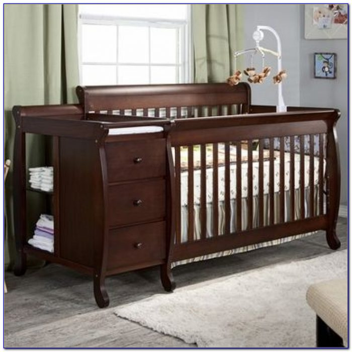 Gray Baby Cribs And Dressers