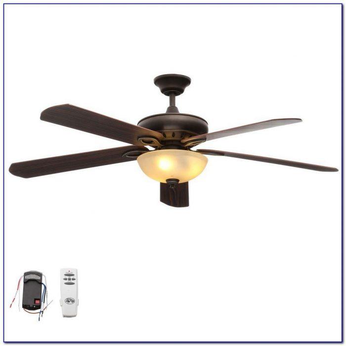 Hampton Bay Ceiling Fan Remote Control Programming
