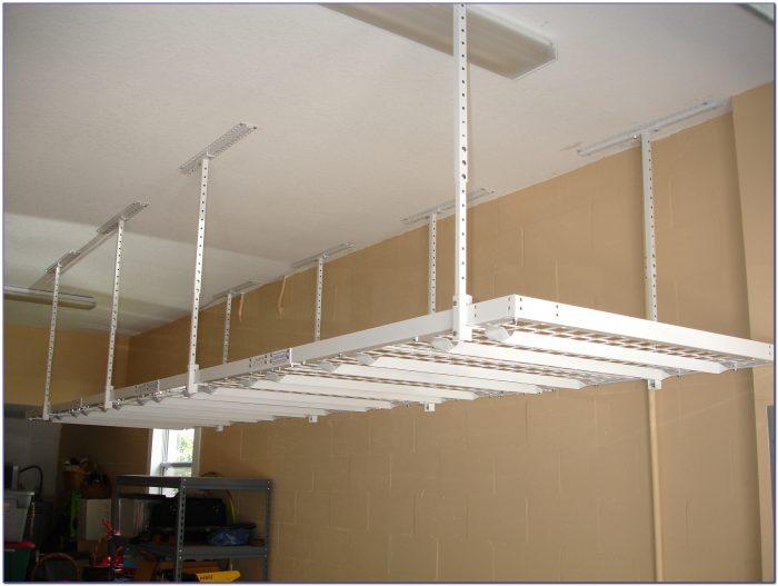 Hanging Ceiling Shelves For Garage