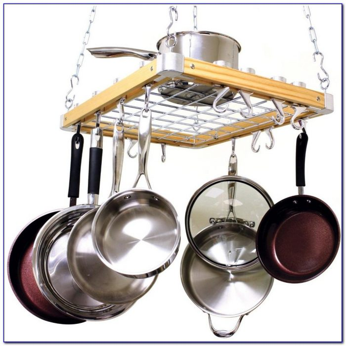 Hanging Pot Rack Ceiling Mount