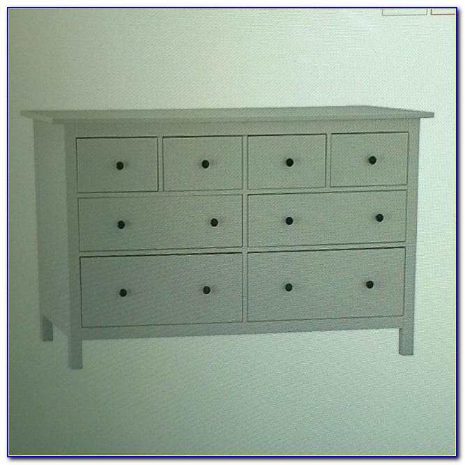Hemnes 8 Drawer Dresser White Vs White Stain