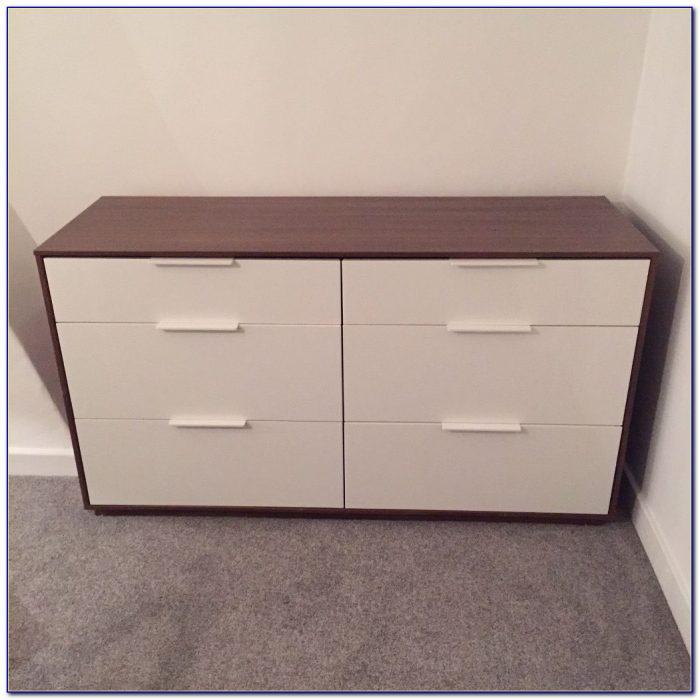 Ikea 6 Drawer Dresser White