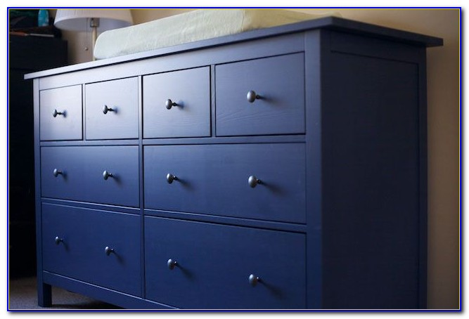 Ikea 8 Drawer Dresser Blue
