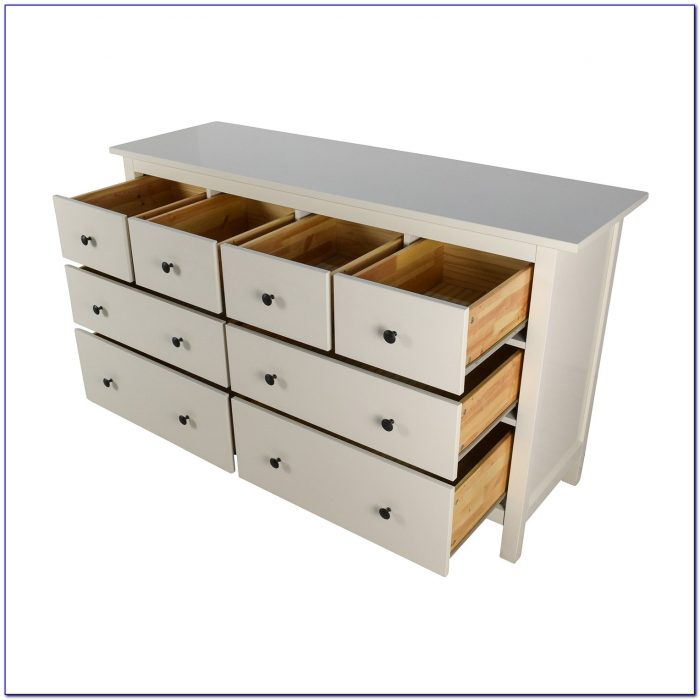 Ikea 8 Drawer Dresser Gray