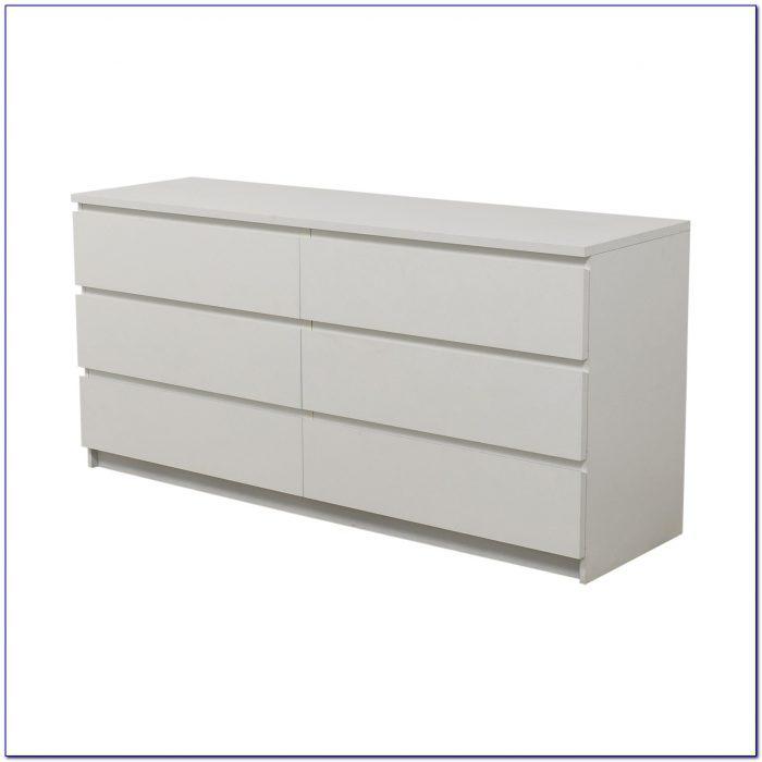 Ikea Hemnes 6 Drawer Dresser White