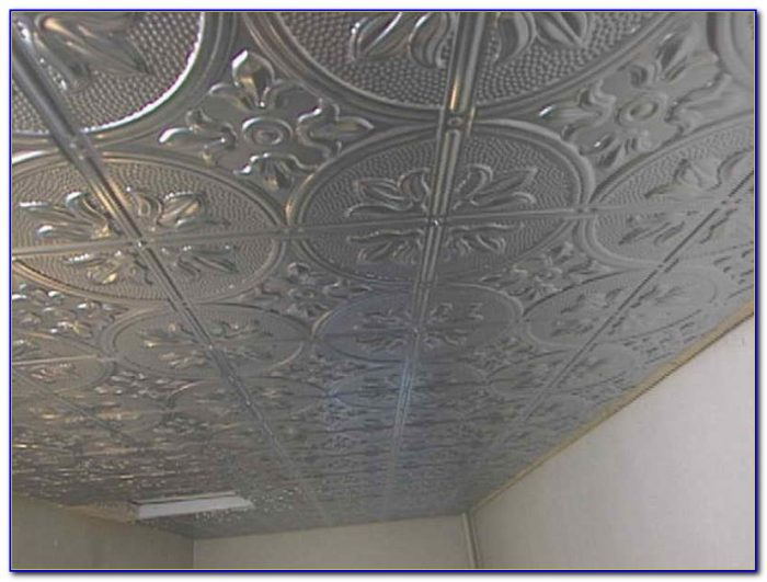 Installing A Faux Tin Ceiling