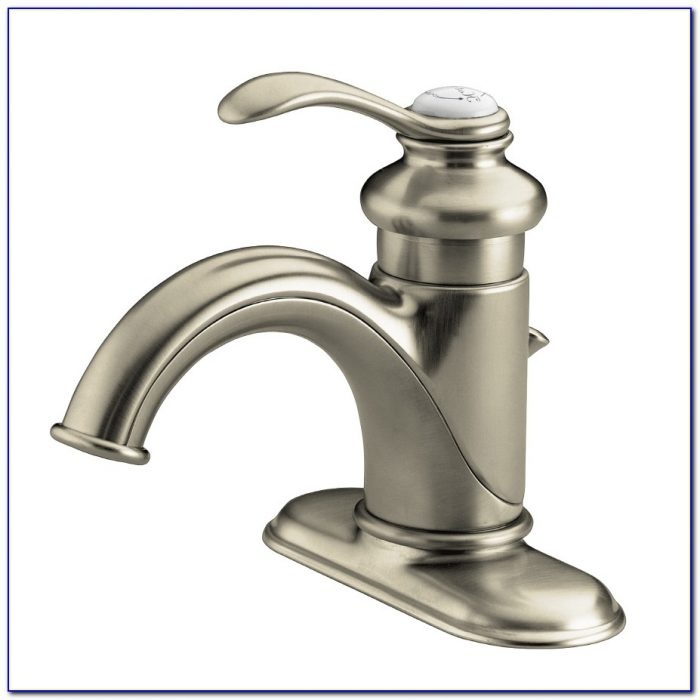 Kohler Bathroom Faucets Brushed Nickel