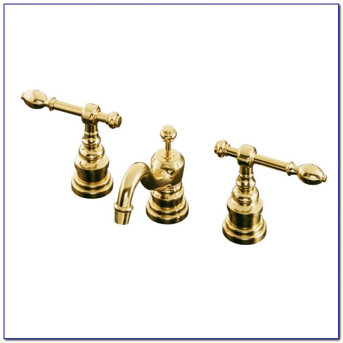 Kohler Polished Brass Bathroom Faucets